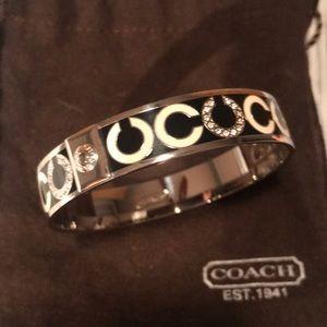 Coach C bangle bracelet